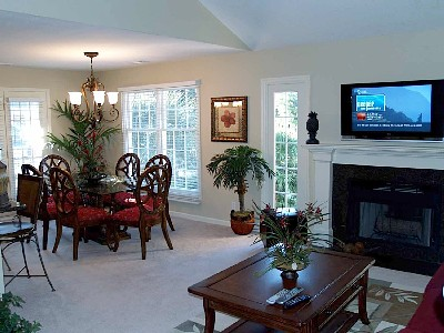 Awesome Dining Room and Living Area