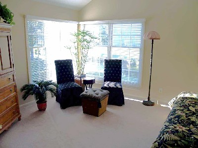 Seating Area in Master Suite