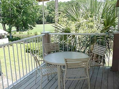 20' Covered Deck with a Lagoon / Golf Course View