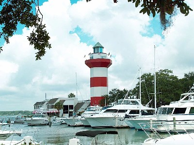 Hilton Head's Famous Harbour Town Lighthouse